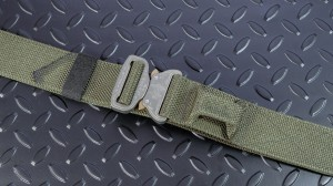Bayonet 45mm COMBAT belt medium rigid with EAR RANGER GREEN buckle Cobra 9kN