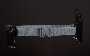 Bayonet 38mm COMBAT belt medium rigid GRAY buckle Cobra 9kN